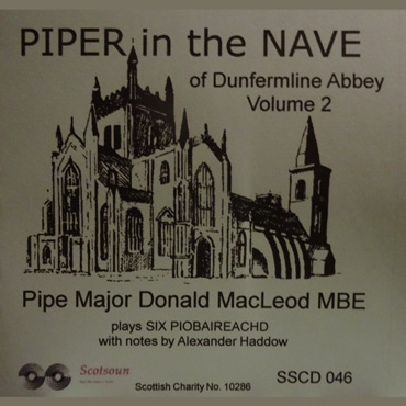 piper in the nave